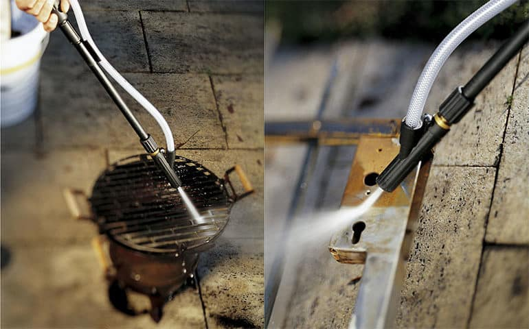 How to select the right sandblaster attachment for your pressure washer.