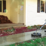How do pressure washer surface cleaners work?
